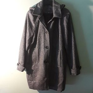 Winter coat with hood size XL